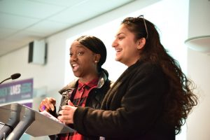 Youth Worker T and Girls Forum member Sharandeep talk about the Forum for 11-18 year old girls