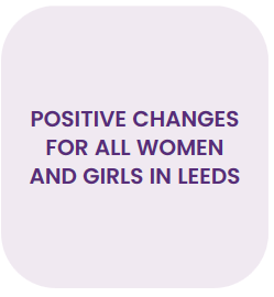 Positive changes for all women and girls in leeds