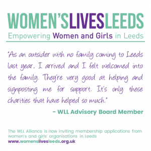 As an outsider with no family coming to Leeds last year, I arrived and I felt welcomed into the family. They're very good at helping and signposting me for support. It's only these charities that have helped so much.